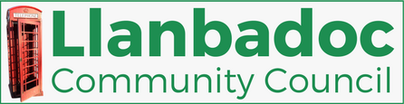 LLanbadoc Community Council Logo
