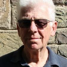 Llanbadoc Councillor Peter Sutherland